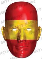 Spain Flag Card Mask