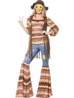 Harmony Hippie Costume, UK 16-18