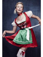 Fever Christmas Dirndl Costume, UK 12-14