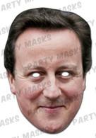 David Cameron Celebrity Face Card Mask
