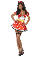 Fever Miss Mouse Costume, UK 16-18