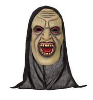 Demon Open Mouthed Mask W/Hood