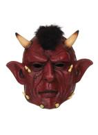 Devil Full Head Mask PVC