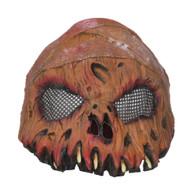 Horror Pumpkin Half Mask