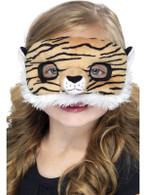 Child Plush Eyemask,Tiger, One Size