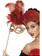 Fever Boutique Baroque Fantasy Eyemask, One Size