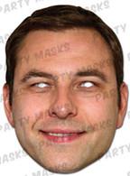 David Walliams Celebrity Face Card Mask