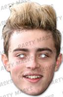 Jedward Edward Celebrity Face Card Mask