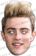 Jedward John Celebrity Face Card Mask