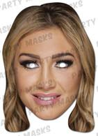 Lauren Goodger Celebrity Face Card Mask