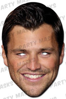 Mark Wright Celebrity Face Card Mask