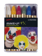 Carnival Greasepaint Crayons, Cosmetics and Disguises Cosmetics and Disguises