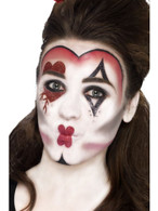 Queen Of Hearts Make Up Kit, with Face Paints,