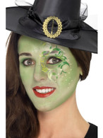 Pretty Witch Make Up Kit, Face Paints,Tattoo,Gem,
