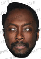 Will.i.am  Celebrity Face Card Mask