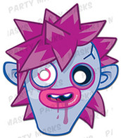 Zommer Moshi Monsters Character Face Card Mask