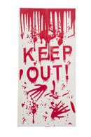 Halloween Door Cover 'Keep Out'