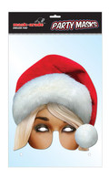 Mrs Claus Character Face Card Mask