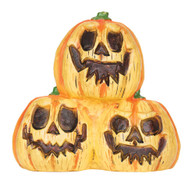 LIGHT UP PUMPKIN TRIO WITH SOUND, HALLOWEEN PARTY PROP