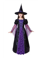 Princess Witch Black/Purple Medium