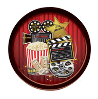 At the Movies- Dinner Plate (8pcs)