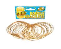 Bracelet. Gold Bangle.
