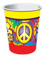 Hippie Décor- 9oz Cup (8pcs)