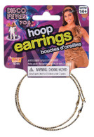 Hoop Earrings, Chav/Pirate/70/80s/Disco