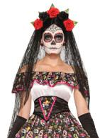 Day of the Dead Veil, Halloween