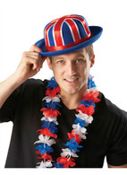 Union Jack Bowler Hat Nylon Felt