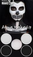 Black/White Aqua Makeup Kit