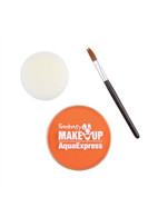 Aqua Makeup Orange 15 with Sponge + Brush