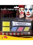 Clown Makeup Kit, Evil/Scary