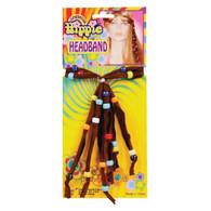 HIPPIE HEADBAND, FANCY DRESS ACCESSORY