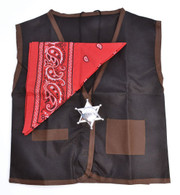 Cowboy Set, Waistcoat/Bandana