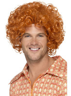 Curly Afro Wig, 1970's Disco Fancy Dress