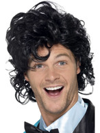 80's Prom King Perm Wig, 1980's Fancy Dress