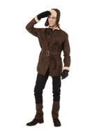 WW1 Pilot Jacket, Hat, Gloves, Belt, Boot Covers