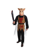 PIG BUTCHER COSTUME, HALLOWEEN FANCY DRESS COSTUME, CHEST SIZE 44""