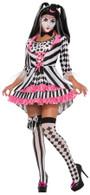 Harlequin Clown Ring Mistress