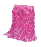 HAWAIIAN PINK GRASS SKIRT, FANCY DRESS HULA ACCESSORY