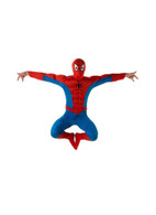 SPIDERMAN DELUXE SUPERHERO Costume, Fancy Dress, XL, Adults