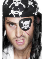 Pirate Eyepatch, Skull & Crossbone