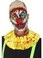 Latex Creepy Clown Instant Kit, Bald Cap, Halloween Fancy Dress