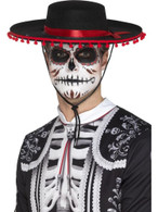 Day of the Dead Senor Hat, Mexican Day of The Dead/Sugar Skulls