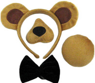 Bear Set (Ears, Nose, Tail + Bow Tie)