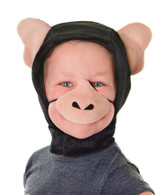 Chimpanzee Disguise Set (Hood + Nose)
