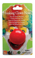 Clown Nose. Honking.
