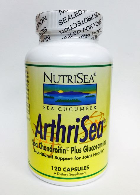 ArthriSea is a joint support supplement that features a combination of Sea Chondroitin (sea cucumber prepared by a patented process) and Glucosamine HCL.