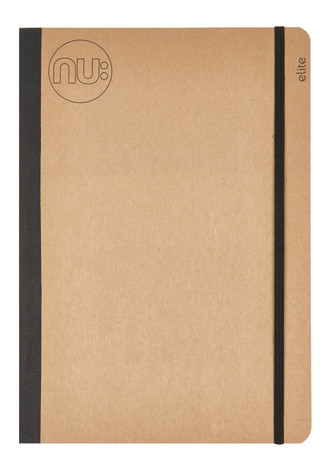 Nu Elite Kraft Tapebound Notebook